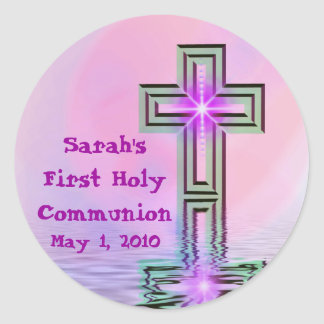 Any Name First Holy Communion Stickers