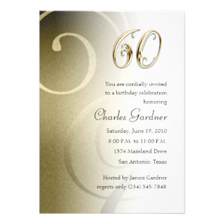 Any Number Birthday Custom Invitation