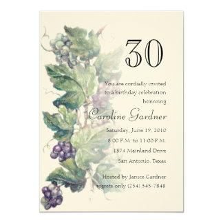 Any Number Birthday Invitation Grapevine