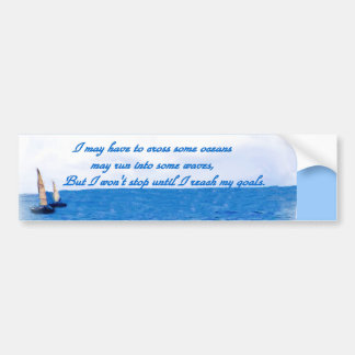 Any Occasions,Ocean pathway_ Bumper Sticker