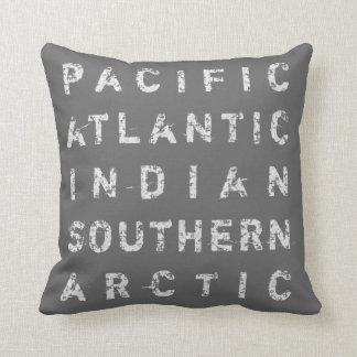 Any Ocean Beach Style Throw Pillow
