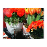 ANY PARTY INVITATION - FLORAL DINNER TABLE