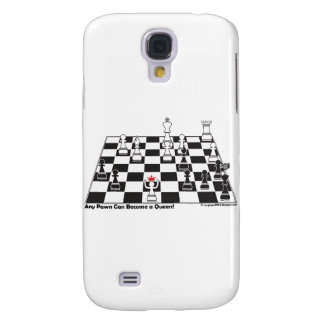 Any Pawn Can Become a Queen - Chess Board Set Galaxy S4 Covers