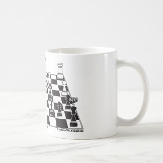 Any Pawn Can Become a Queen - Chess Board Set Coffee Mugs