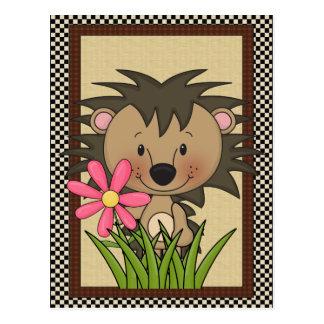 Any Purpose Postcard Hedgehog