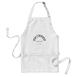 Any Questions Adult Apron