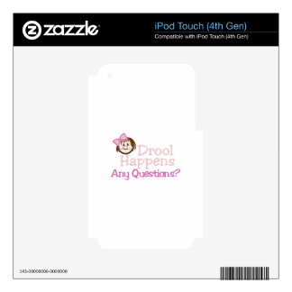 Any Questions? iPod Touch 4G Skin