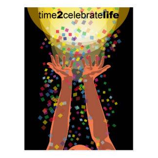 Any Reason to Celebrate Life Postcard