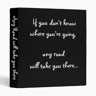 Any Road-avery binder
