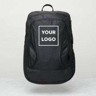Any Shape Business Logo Branded Port Authority® Backpack