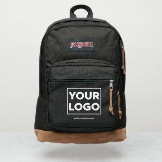 Any Shape Business Logo Custom Text JanSport Backpack