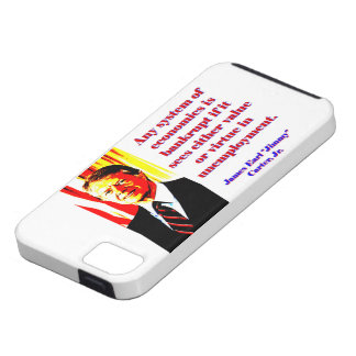 Any System Of Economics - Jimmy Carter iPhone SE/5/5s Case