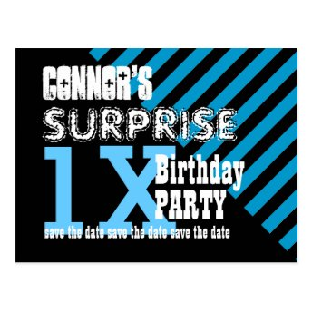 Any TEEN Year Surprise Birthday Save the Date T01Z Postcards