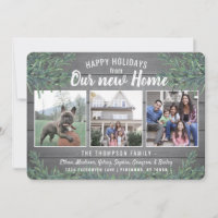 Holiday Moving & New Home Announcements<