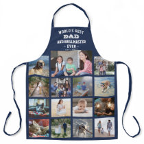 Any Text Photo Collage Best Dad Grill Master Blue Apron