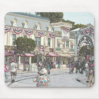 Any Town, USA Mouse Pad