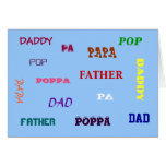 Any Way You Say It Father's Day Card Cards