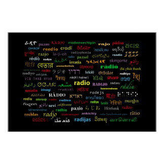 Any Way You Say It, It's Radio Posters