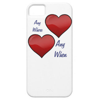 Any Where Any When iPhone SE/5/5s Case