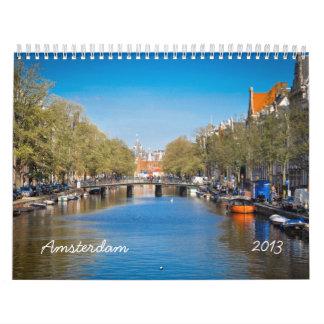 Any Year Amsterdam Wall Calendar