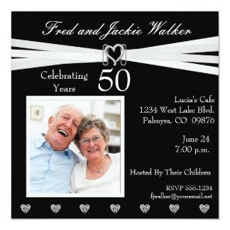 Any Year Anniversary Party Photo  Invitations