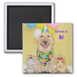 Any year birthday magnet