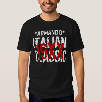Any Year ITALIAN CLASSIC Birthday Custom Name B07 T Shirt