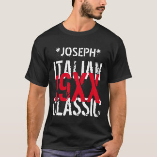 Any Year ITALIAN CLASSIC Birthday Custom Name B10B T-Shirt