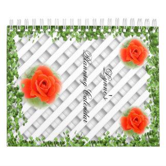 Any Year Planning Calendar, 24 months Calendar