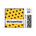 Any Year STARS Surprise Birthday Party V08B Stamps
