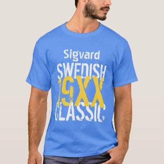 Any Year SWEDISH CLASSIC Birthday Custom Name S01 T-Shirt