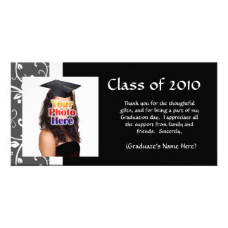 Any Year~ Vines Graduation Thank You/Announcement Photo Card