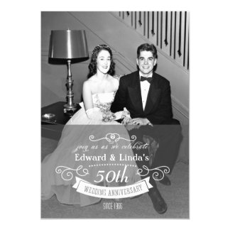ANY YEAR - Wedding Anniversary Invitation