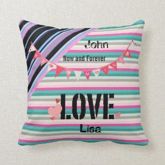 Any years Wedding anniversary customized Throw Pillow