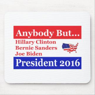 Anybody but Hillary, biden,sanders Mouse Pad