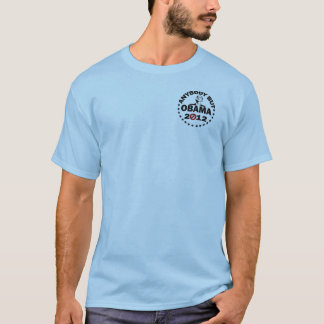 Anybody But Obama 2012 (2 sided) T-Shirt