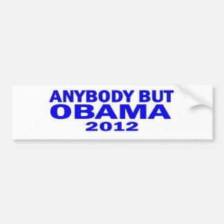 Anybody But Obama 2012 Bumper Sticker