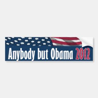 Anybody But Obama 2012 Car Bumper Sticker
