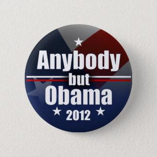 Anybody but Obama 2012 Button