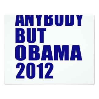 Anybody But Obama 2012 Custom Announcements