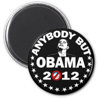 Anybody But Obama - 2012 Magnet