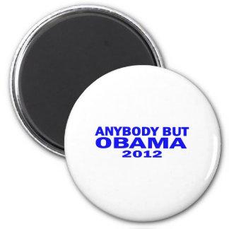 Anybody But Obama 2012 Fridge Magnet