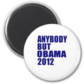 Anybody But Obama 2012 Refrigerator Magnets
