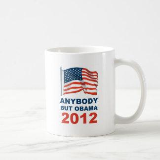 Anybody but Obama 2012 Coffee Mugs