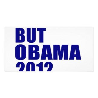 Anybody But Obama 2012 Custom Photo Card