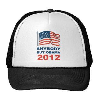 Anybody but Obama 2012 Trucker Hat