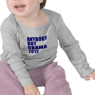 Anybody But Obama 2012 Tee Shirt