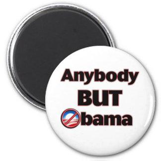 Anybody BUT Obama 2 Inch Round Magnet