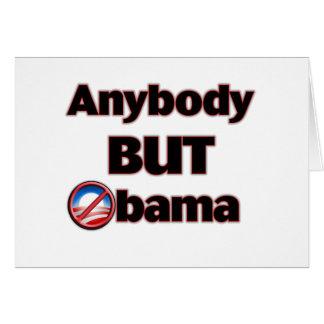 Anybody BUT Obama Cards