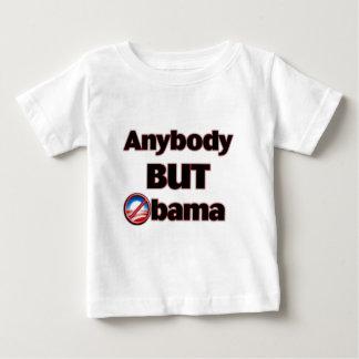 Anybody BUT Obama Infant T-shirt